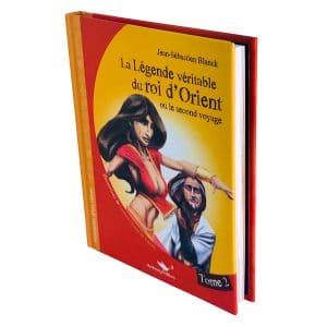 La légende du véritable roi d'Orient tome 2 relief