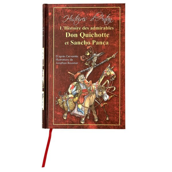 Don quichotte et Sancho Pança couverture