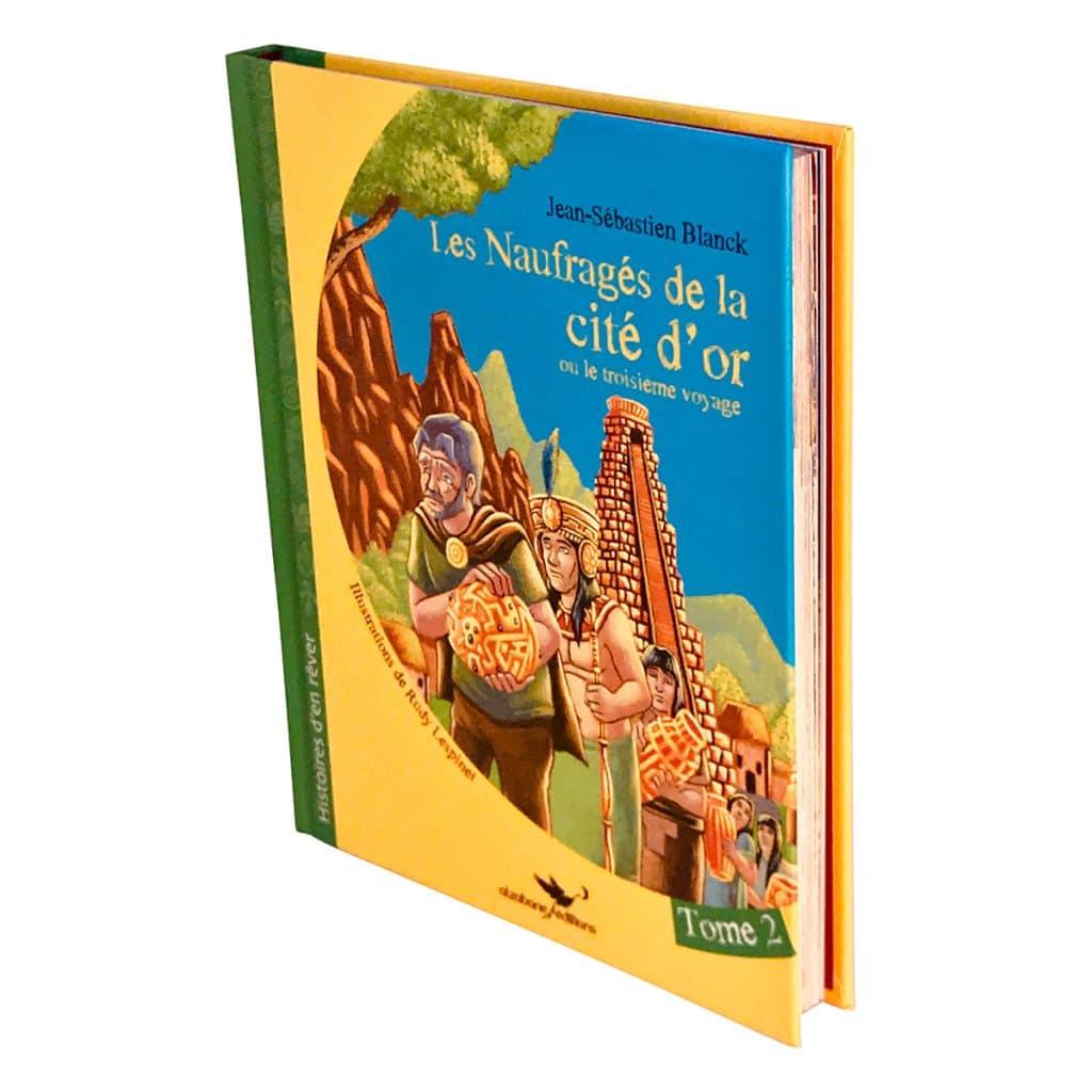 Les cités d'or tome 2 relief