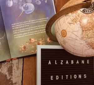 Alzabane aux salons du livre jeunesse